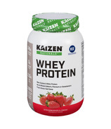 Kaizen Naturals Whey Protein Powder Strawberries And Cream