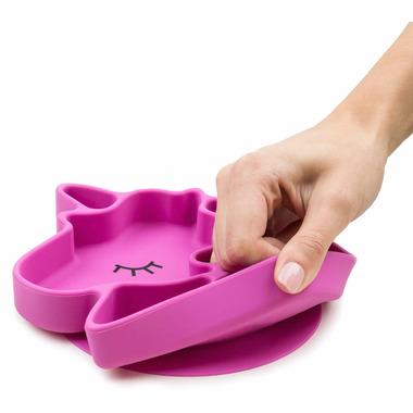 Bumkins Silicone Grip Dish Unicorn