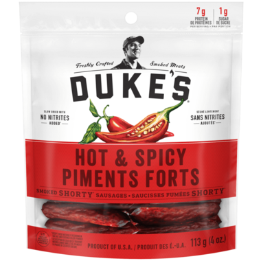 Duke\'s Hot & Spicy Smoked Shorty Sausages