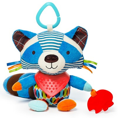 Skip Hop Bandana Buddies Activity Raccoon