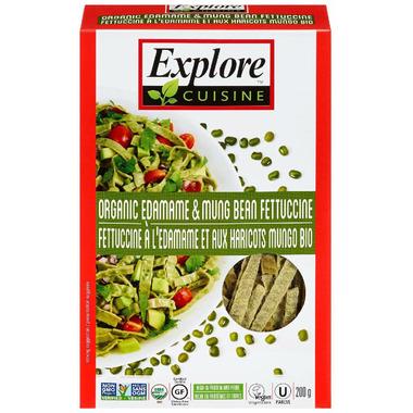 Explore Organic Edamame & Mung Fettucine