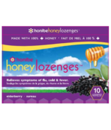Honibe Honey Lozenges Elderberry