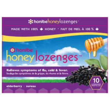 Honibe Honey Lozenges Elderberry