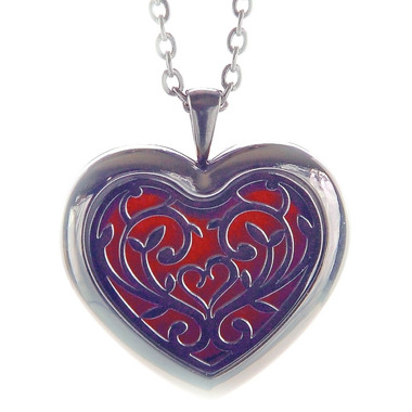 Finesse Home Heart Aroma Pendant Necklace