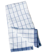 e-cloth Classic Check Dish Towel Blue Check
