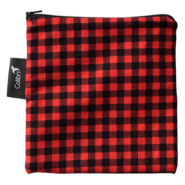 Colibri Reusable Snack Bag Large in Plaid