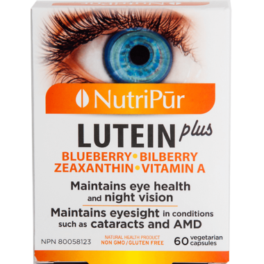 Nutripur Lutein Plus For Eye Health