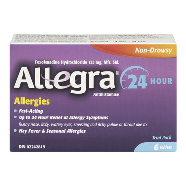 Allegra Allergy 24 Hour Relief Trial Pack