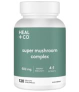 HEAL + CO. Super Mushroom Complex 4:1 extracts 500mg