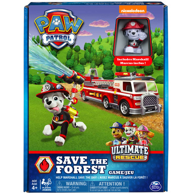 Spin Master Games PAW Patrol Save the Forest Family Board Game
