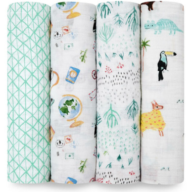 aden + anais Classic Swaddles Around the World