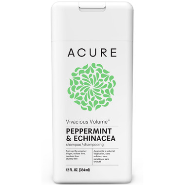 Acure Vivacious Volume Shampoo Peppermint & Echinacea