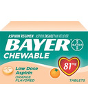Aspirin Daily Low Dose Quick Chews