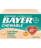 Aspirin Daily Low Dose Quick Chews