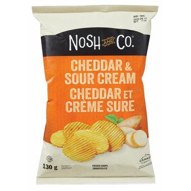 Nosh & Co. Potato Chips Cheddar & Sour Cream