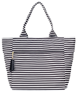 Logan and Lenora Waterproof Carryall Tote Audrey Stripe
