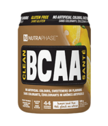 NUTRAPHASE Clean BCAA Lemon Iced Tea
