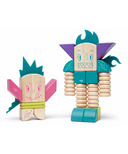 Tegu Magnetic Wooden Blocks Set Beans and Tum Tum