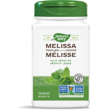 Nature\'s Way Melissa Leaves Mild Sedative