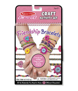 Melissa & Doug On-the-Go Crafts Friendship Bracelets