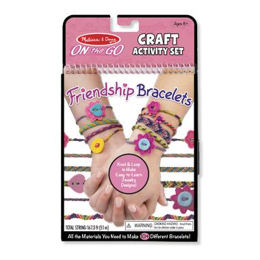 Melissa & Doug On-the-Go Crafts Friendship Bracelets