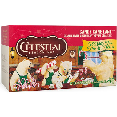 Celestial Seasonings Candy Cane Lane Holiday Tea
