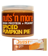 Quest Nutrition & Nuts 'N More Pumpkin Seasonal Protein Bundle