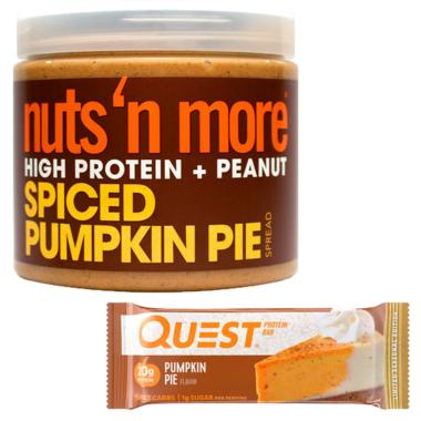Quest Nutrition & Nuts \'N More Pumpkin Seasonal Protein Bundle