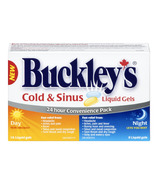 Buckley's Cold & Sinus Liquid Gels Day + Night Pack