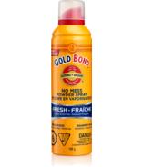 Gold Bond poudre sans pagaille vaporisateur rafraîchissant