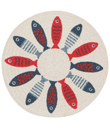 Now Designs Braided Trivet Little Fish