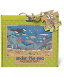 Melissa & Doug Natural Play Giant Floor Puzzle Under the Sea