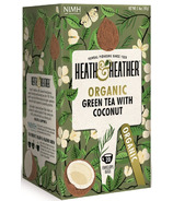 Heath & Heather Organic Green Tea & Coconut