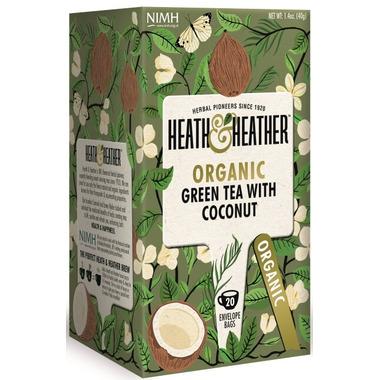 Heath & Heather Organic Green Tea & Coconut