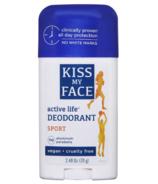 Kiss My Face Active Life Deodorant Stick Sport