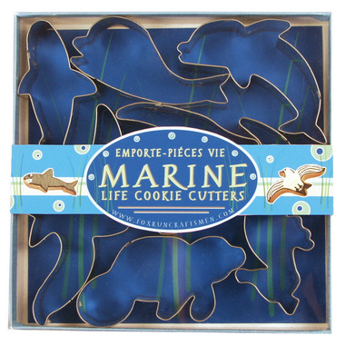 Marine Life Cookie Cutters