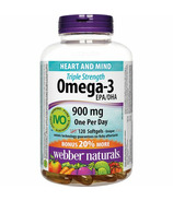 Webber Naturals Oméga-3 EPA/DHA Triple Strength 900mg