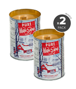Seracon Maple Syrup Tin Candle with Wooden Wick Bundle