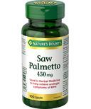 Nature's Bounty Saw Palmetto