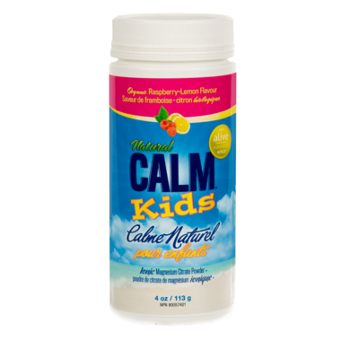 Natural Calm Kids Calm Raspberry Lemon