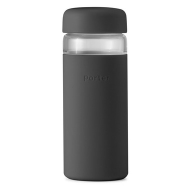 W&P Porter Wide Mouth Bottle Charcoal