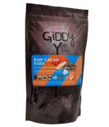 Giddy Yoyo Barre de chocolat bio Cacao Nibs