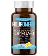 AquaOmega Omega-3 Fish Oil AEP Extra EPA Softgels