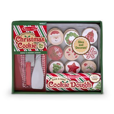 Melissa & Doug Slice and Bake Christmas Cookie Play Set