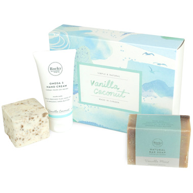 Rocky Mountain Soap Co. Vanilla Coconut Love Gift Set
