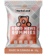 Gommes Herbaland Good News gout Pêche Passion