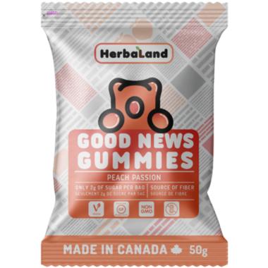 Herbaland Good News Gummies Peach Passion