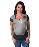 Baby K'Tan Solid Cotton Original Baby Carrier Heather Grey