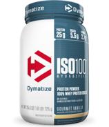 Dymatize Nutrition ISO100 Hydrolyzed Whey Protein Gourmet Vanilla