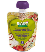 Baby Gourmet Banana Apple Fig Oatmeal and Greek Yogurt